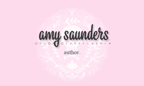 amy saunders | author
