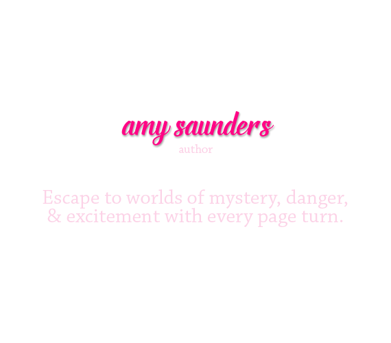amy saunders, cozy mystery & YA author