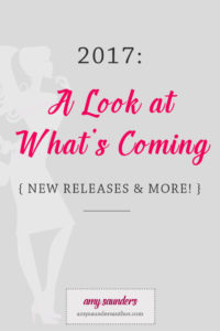 2017: Upcoming Releases, A New Project, & More Posts